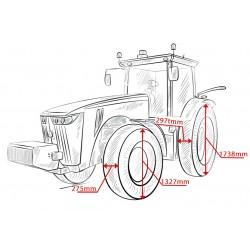 Тесни гуми и джанти за Deutz K420 / Agrifarm 420